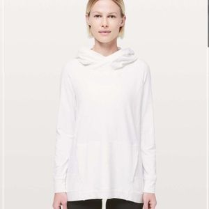 lululemon size 4 white starting place hoodie rulu